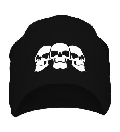 Шапка Три черепа