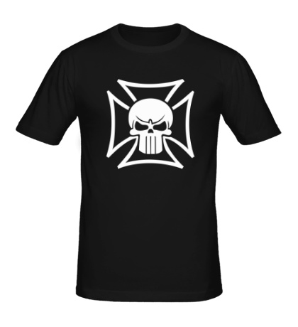 Мужская футболка «Орден с черепом»