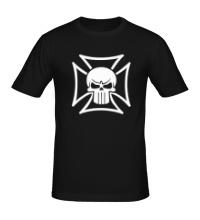Мужская футболка Орден с черепом