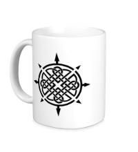 Керамическая кружка Кельтский шип