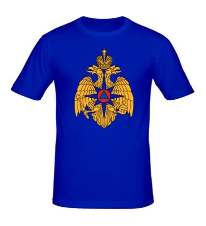 Мужская футболка Герб МЧС России