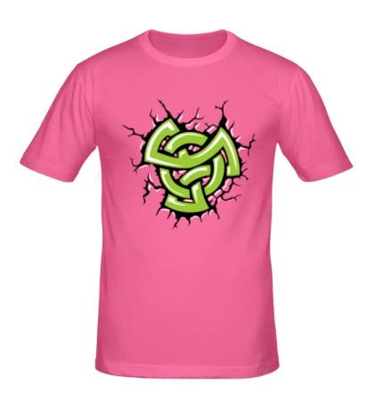 Мужская футболка Духовный кельтский узел
