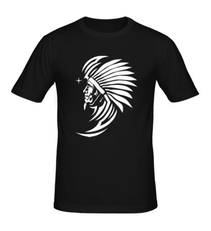 Мужская футболка Древний индеец