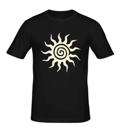 Мужская футболка Солнышко