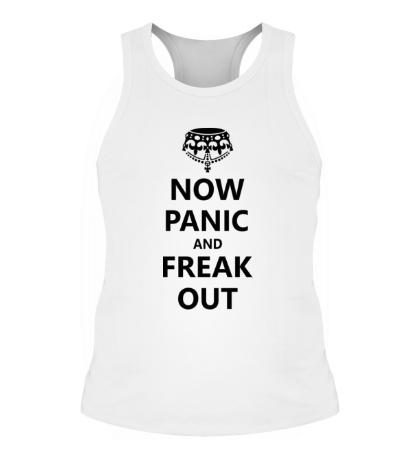 Мужская борцовка Now panic and freak out