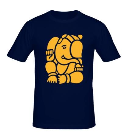 Мужская футболка Ганеша Ганапати