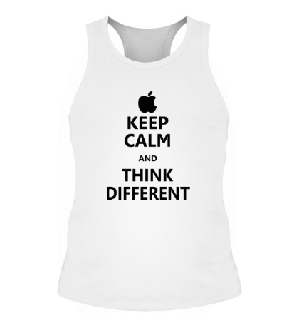Мужская борцовка Keep calm and think different
