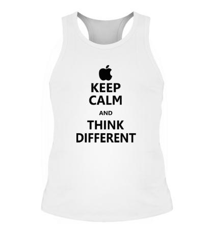 Мужская борцовка Keep calm and think different