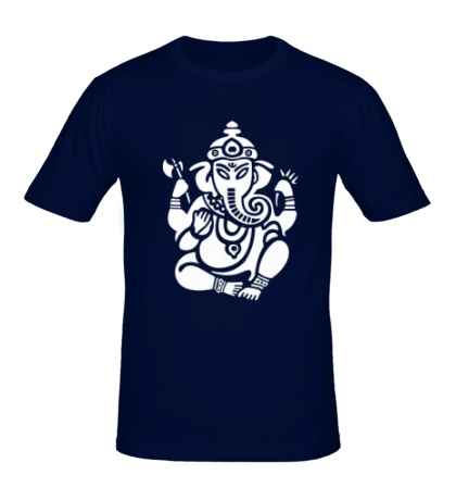Мужская футболка Ганеша