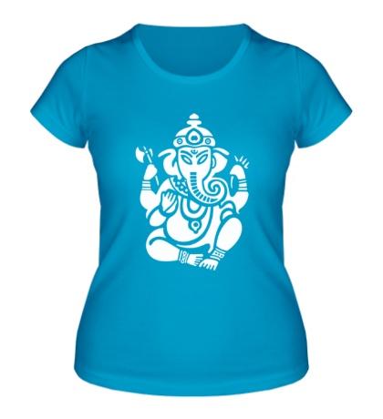 Женская футболка Ганеша