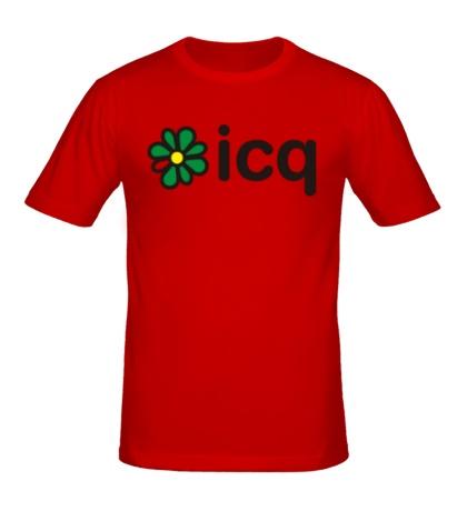 Мужская футболка Icq