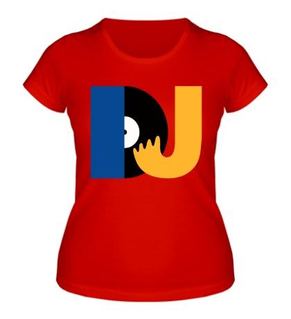 Женская футболка DJ Retro