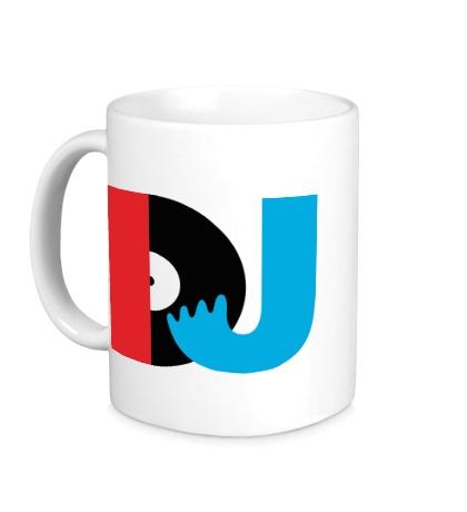 Керамическая кружка DJ Retro