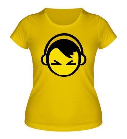 Женская футболка DJ Smile