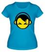 Женская футболка «DJ Smile» - Фото 1