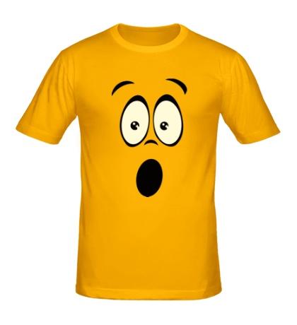 Мужская футболка Удивление glow