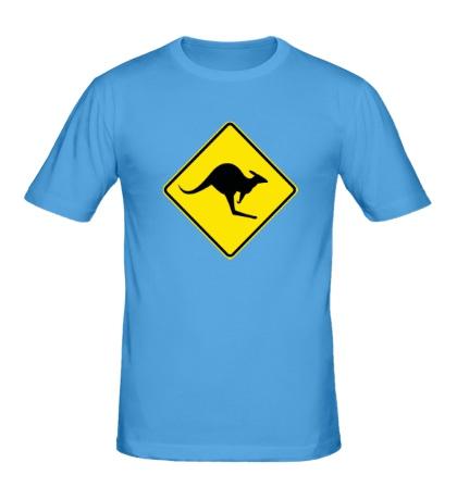 Мужская футболка Австралийский Знак