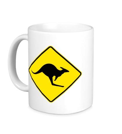 Керамическая кружка Австралийский Знак