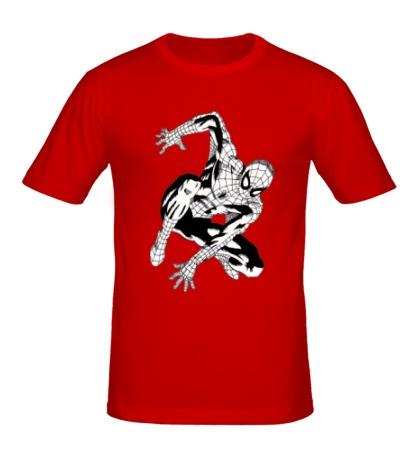 Мужская футболка Black Spider-Man