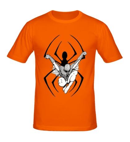 Мужская футболка Dark Spider-Man