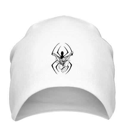 Шапка Dark Spider-Man