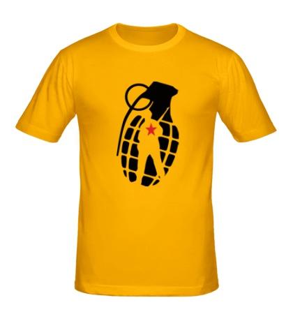 Мужская футболка Граната солдата