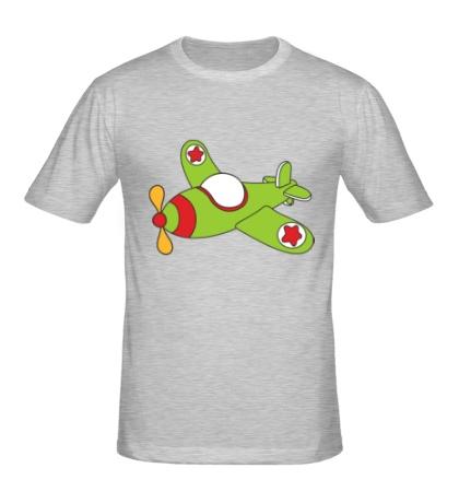 Мужская футболка Самолетик ВВС