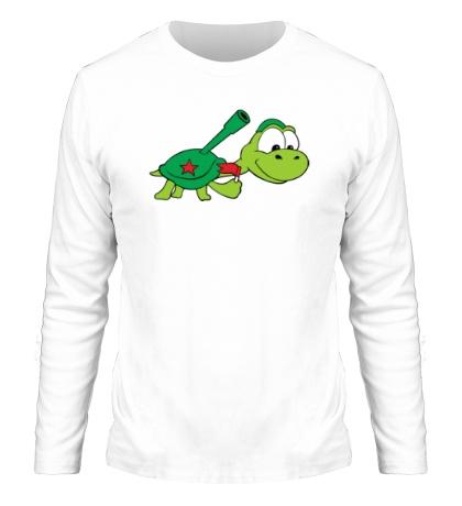 Мужской лонгслив Боевая черепаха
