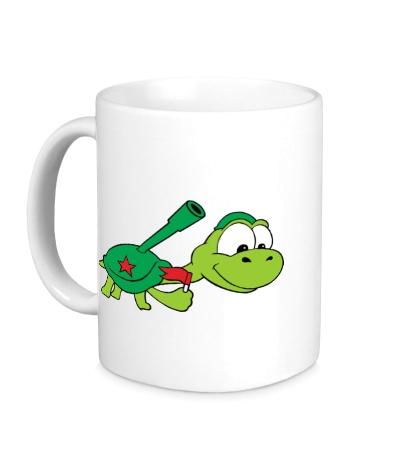Керамическая кружка Боевая черепаха