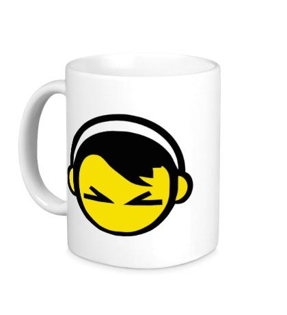 Керамическая кружка DJ Smile