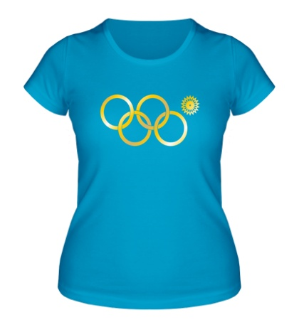 Женская футболка Нераскрывшееся кольцо, золото