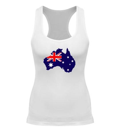 Женская борцовка Карта Австралии