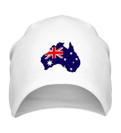 Шапка Карта Австралии