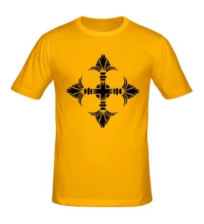 Мужская футболка Геральдический орнамент