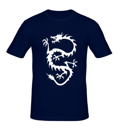 Мужская футболка Дракон вечности