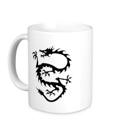 Керамическая кружка Дракон вечности