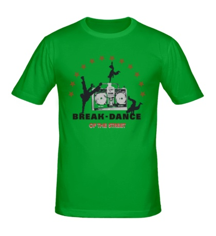 Мужская футболка Break-Dance of the Street
