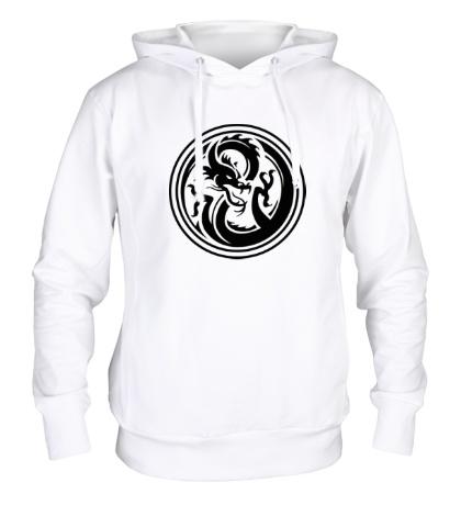 Толстовка с капюшоном Дракон: символ