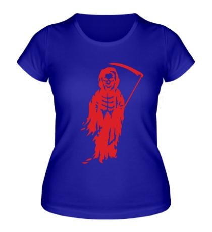 Женская футболка Смерть