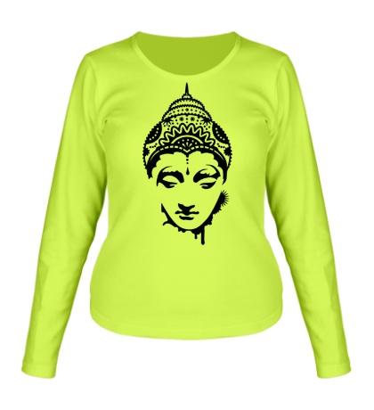 Женский лонгслив Будда