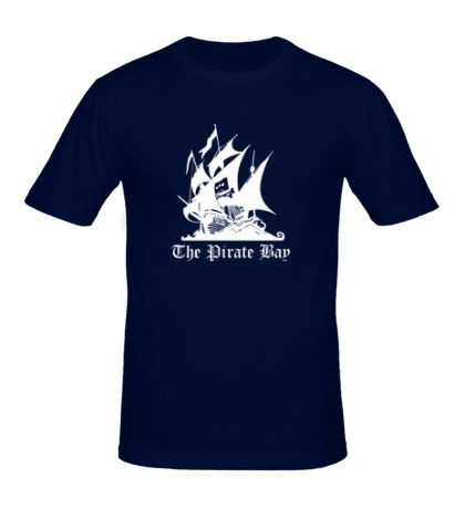 Мужская футболка The Pirate Bay