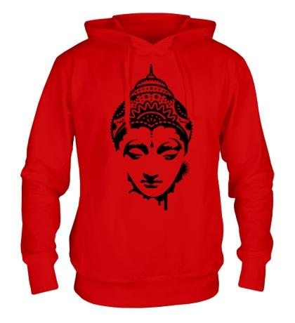 Толстовка с капюшоном Будда