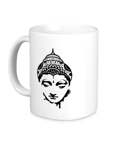 Керамическая кружка Будда