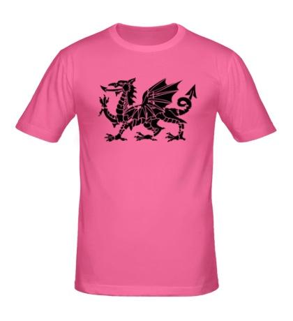 Мужская футболка Мифический дракон