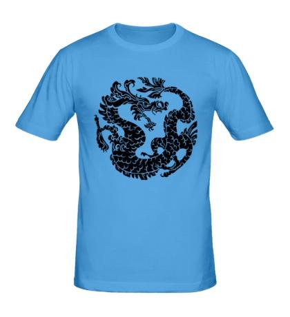Мужская футболка Китайский дракон