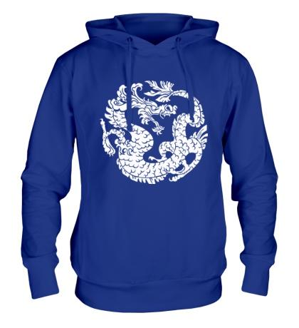 Толстовка с капюшоном Китайский дракон
