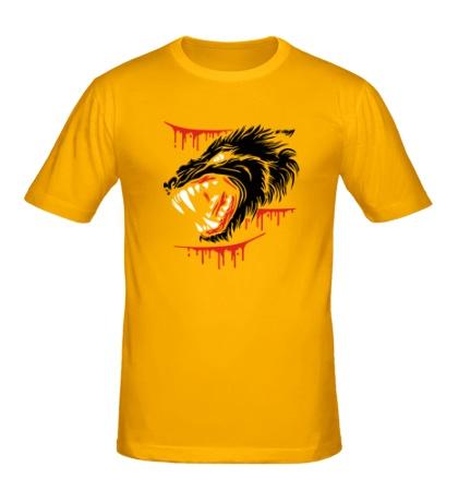Мужская футболка Волчья ярость