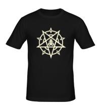 Мужская футболка Пентаграмма свет