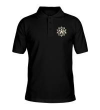 Рубашка поло Пентаграмма свет