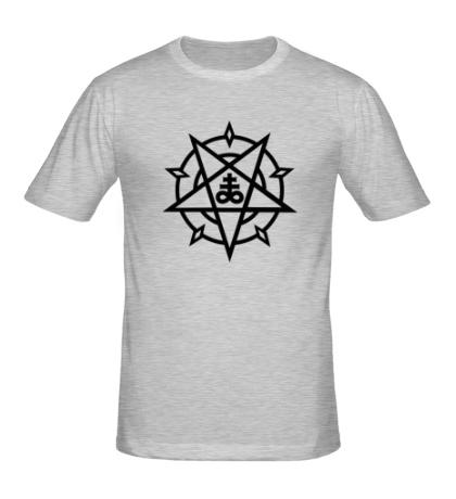 Мужская футболка Пентаграмма